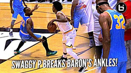 Nick Young Breaks Baron Davis' Ankles And Hits The 3   Defender Learns Lesson In Karma Lol