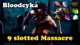 Bloodseeker 9 slotted Massacre Dota 2