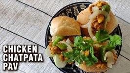 Chicken Chatpata Recipe / How To Make Chicken Masala Pav Chicken Recipe By Chef Varun Inamdar