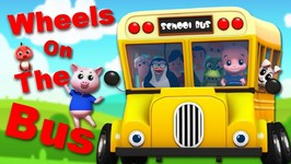 The Wheels On The Bus With Junior Squad - Nursery Rhymes For Children