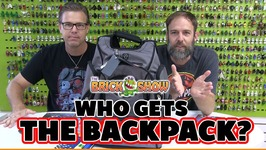 Who Gets the Lego Backpack - Lego Jurassic World Build Battle