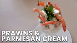 Prawns And Parmesan Cream