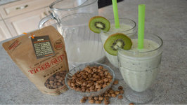 How To Make Kiwi And Tiger Nuts Milk Smoothies