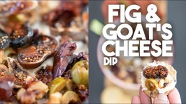 This Goat Cheese And Fig Holiday Dip - Spread Is No Cook