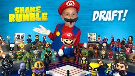 Wolverine Thanos And Mario Super Hero Shake Rumble Draft For Kids
