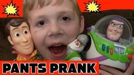 Toy Story 4 Pants Prank - Woody Buzz Lightyear