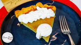 Custard Pumpkin Pie From Scratch