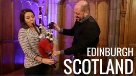 Edinburgh, Scotland - Tartans, Ceilidh, Bagpipes, And Hogmanay