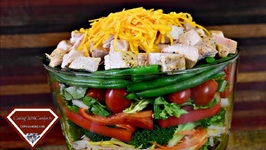 The Best Layered Chicken Salad - Great Summer Time - Eat Fresh