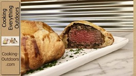 Individual Sized Beef Wellingtons On The Grill