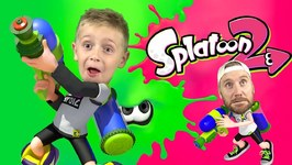 Splatoon 2 Weapons Battle Kids Gaming On Nintendo Switch And Family Fun