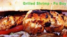 Grilled Shrimp - Po Boy