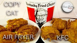 Kentucky Fried Chicken - Omorc Air Fryer - No Oil - Secret 11 Spices Here