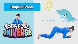 Dolphin Pose - Yoga Pose Universe