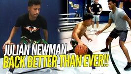 Julian Newman Full Intense Workout Back Better Than Ever