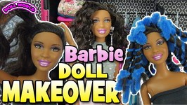 Barbies Beautiful Easy Doll Makeover Hair Transformation
