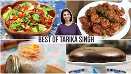 Mexican Salad  Vegan Cake  Overnight Oats  Chilli Garlic Prawns  Best Recipes Of Tarika Singh