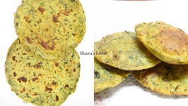 Malai Methi Bhakri And Puri