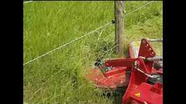 The Raster Master Mower Impressively Cuts Around Poles