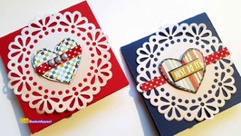 EASY VALENTINES DAY CARDS - CARD MAKING