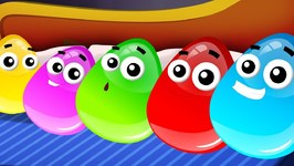 Five In The Bed - Crazy Eggs - Nursery Rhymes For Children - Videos by Kids Channel