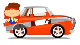 Doctor McWheelie and Rust - Car Cartoon and Learning Videos- Vehicles for Kids with Car Doctor.