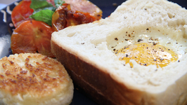 Egg In The Hole - Quick Breakfast Recipe - My Recipe Book By Tarika Singh