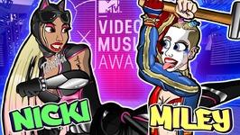 Nicki Minaj Vs Miley Cyrus - PopJustice