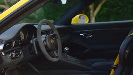 porsche 911 gt3 interior design in yell