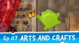 Om Nom Stories- Arts and Crafts -Episode 7 Cut the Rope