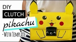 PIKACHU CLUTCH DIY