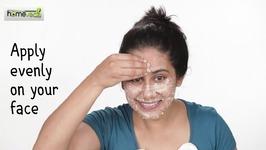 Oatmeal Face Scrub DIY Skin Care