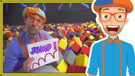 Jumping Animals for Kids - Learn at an Indoor Trampoline Park