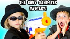 Bad Baby Nerf Attack vs Detective Donut: Steals Brownies Mega Morph Returns Bad Babies Mystery Comic