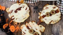 Pizza Mummies - Spooky Halloween Recipes