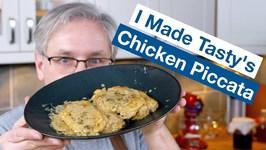 I Made Tasty's Creamy Chicken Piccata