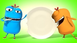 Mad Beans - Mad Beans - Eating Gag - Jaz Toonz - 3D Videos For Kids And Children- Prank videos
