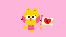 Counting Valentines Song For Kids - Valentines Day - For Children - Kindergarten