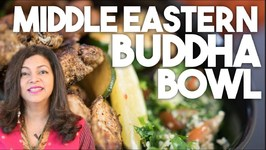 Middle Eastern BUDDHA BOWL - Meal Prep