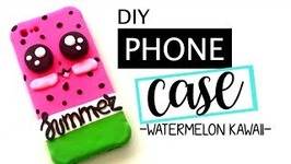 DIY: SMARTPHONE CASE -WATERMELON KAWAII