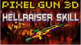 Pixel Gun 3D - Hellraiser Skill - Coin Farming Weapon