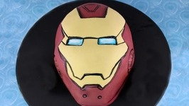 Iron Man Cake (How To)  Mycupcakeaddiction Collaboration