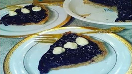 Blueberry Pie With Gluten Free Tiger Nut Pie Crust