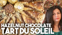 Chocolate Hazelnut Tart du Soleil - Easy 4 ingredient