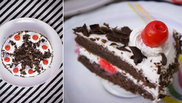 Black Forest Cake Without Oven - Eggless Black Forest Cake - Step By Step