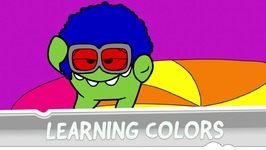 Learning Colors with Om Nom - Coloring Book - Disco Era