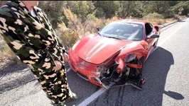 DESTROYED Ferrari 430 Scuderia
