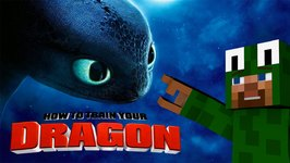 Minecraft - HOW TO TRAIN YOUR DRAGON - We lost Toothless! 28