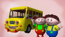 Wheels on The Bus  Children's Popular Nursery Rhymes