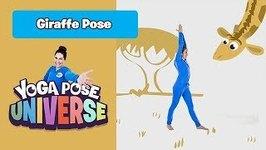 Giraffe Pose - Yoga Pose Universe